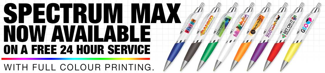 The Spectrum Max Printed Ballpen